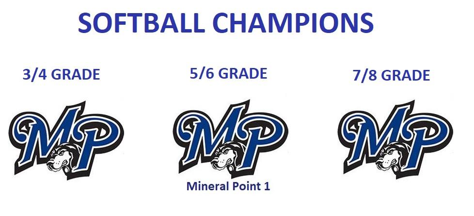 Softball 2021 Champions